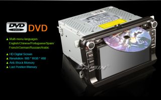 "ES7036US 7"" Car DVD Player TV iPod WiFi 3G GPS Android Pad VW Passat Skoda"