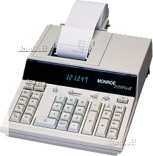 Monroe 2020 Plus II Desktop Printing Calculator