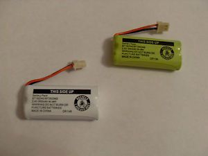 Genuine Vtech Cordless Phone Battery Pack BT162342 BT262342 2 4V 300mAh Ni MH