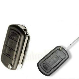 Uncut Flip Folding Key Remote Shell Case for Land Rover Range Rover Sport LR3