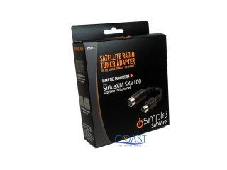 iSimple ISSR12 Satellite Radio Tuner Adapter for SiriusXM SXV100