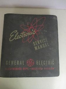 1950's General Electric Service Manual for Televisions and Radios TK8