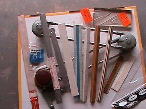 "16"" Universal Desk Topper Drafting Machine Tools Scales Triangulars Rulers"