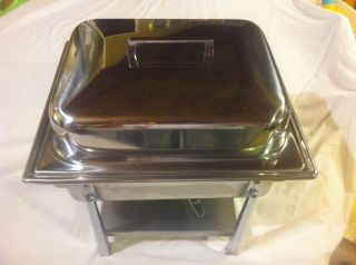 Catering Chafing Dish Hot Plate Food Warmer Buffet Server Oven Stainless Steno