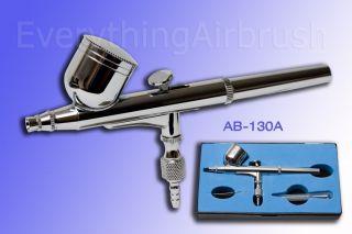 Precision Airbrush Kit Air Brush Air Tool AB 130A