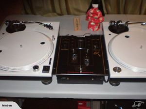 Technics 1200 mk3D turntables Custom Paintjob Technics SH EX1200
