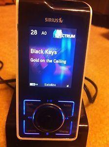 Sirius Stiletto 100 Portable Satellite Radio Activated 84720009703