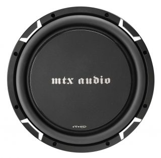 "MTX Audio TT6512 02 12"" Single 2 Ohm Round Thin Sub"