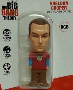 Sheldon Cooper USB Flash Drive 8GB New in Pkg Big Bang Theory