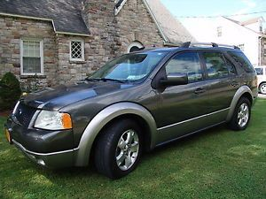 2006 Ford Freestyle Sel AWD Leather Power Seats Power Windows Backup Sensors