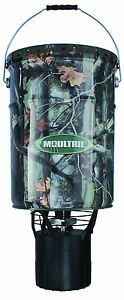 Moultrie 6 5 Gallon Pro Hunter Hanging Feeder Game Accessories Deer Bucket Timer