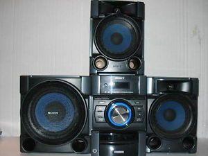 Sony MHC EC909IP CD iPod Radio Mini Shelf System wth Speakers Subwoofer