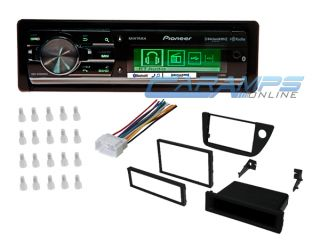 2002 2006 RSX Pioneer Car Stereo Bluetooth HD Sirius XM Radio w Installation Kit