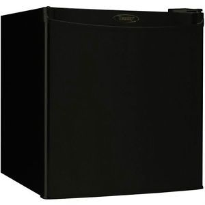 Danby Compact Small Refrigerator 1 7 CU ft Mini Dorm Office Fridge New Black New