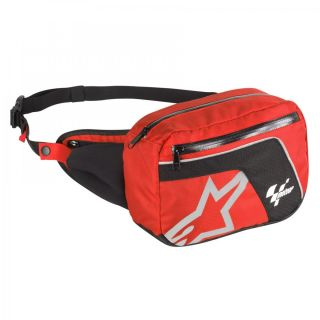 Alpinestars Moto GP Utility Belt Fanny Pack Bag Motorcycle Red Black One Size