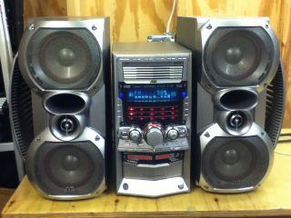 JVC HX Z30 Shelf Stereo System