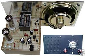 Igenplus Tube Regen Radio Kit Speaker Front Panel