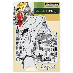 Penny Black Rubber Stamps Slapstick Cling Venetian Summer New Stamp 2013