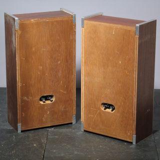 Vintage Mid Century Modern Sony Bookshelf Speakers