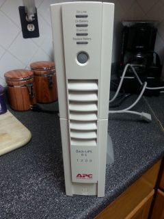 APC Back UPS RS 1200 BR1200 Battery Backup Surge Protector Case