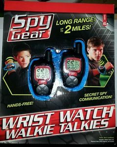 New Spy Gear Long Range Wrist Watch Walkie Talkies