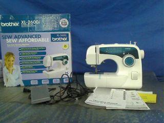 Brother XL2600I Sew Advance Sew Affordable 25 Stitch Free Arm Sewing Machine