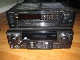 Pioneer Audio Video Stereo Receiver VSX 3800 Aiwa Stereo AV Receiver AV S17