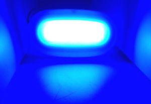 Marine Boat LED Surface Mount Blue Color Courtesy Light 4 Watt