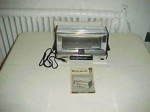 Vintage General Electric GE Deluxe Toast R Oven Toaster A2T93 Chrome Retro Toast