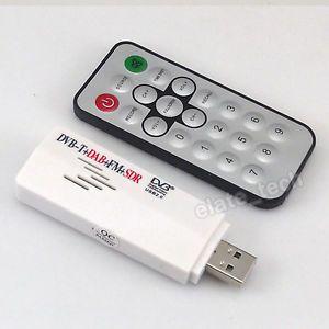 DVB T USB TV Rtl SDR FM DAB Radio Tuner Receiver Stick Realtek RTL2832U FC0013B