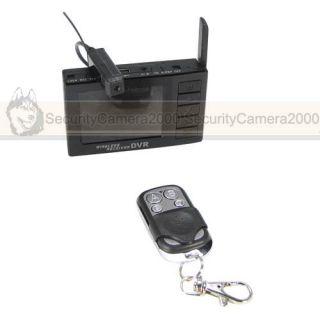 Mini Wireless Camera DVR USB Receiver Remote Controller Wireless Monitor