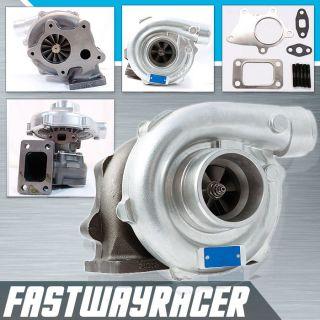 Universal T3 T4 T04E Hybrid Turbo Charger 63 AR Exhaust Trim T3 Flange 2 5'' DP