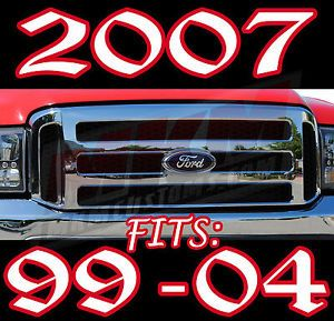 05 07 F250 F350 Ford Superduty Grille Conversion 99 04