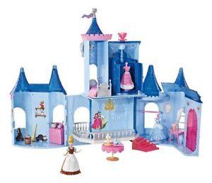 Disney Princess Castle Games Dollhouses Dolls Toys Accessories Toy
