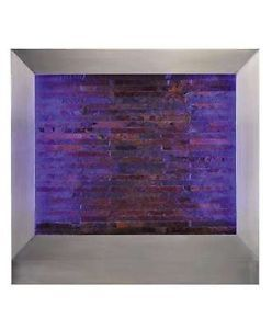 Large Wall Water Fountain Indoor Art Gift Feature Wall Mount Changing Color