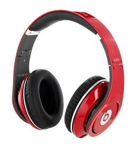 Beats by Dr Dre Beats Studio Headband Headphones Red