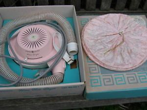 Vintage 1960's General Electric Home Pink Hair Dryer