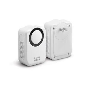 D Link DHP 303 Internet Powerline HD Network Starter Kit Plug Play 200Mbps