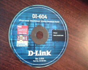 Di 604 Express Ethernetwork CD D Link Manual Install Guide Ver 2 05A CD Di 604