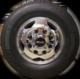 2011 14 Chevy Silverado GMC Sierra HD 3500 Dually DRW Wheels Rimsmichelin Tires