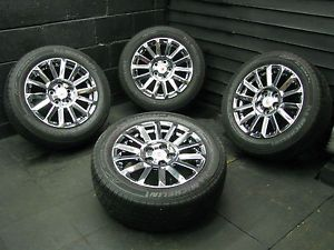 """17"""" PVD Cadillac cts Wheels Factory Rims Michelin Tires 2008 2013"""