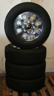 """18"""" GMC Sierra Pick Up Factory Alloy Wheels with Goodyear Tires Set of 4"""