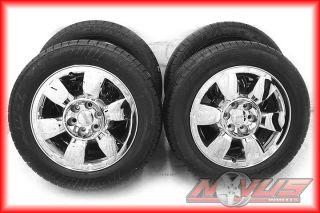 "20"" GMC Yukon Sierra Denali Chevy Tahoe Silverado Wheels Goodyear Tires 18 22"