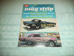 Vintage Drag Strip Drag Racing Magazines 1966 Super Stocks Hot Rods Cars AHRA