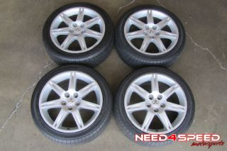 """18"""" Factory Mitsubishi Eclipse GS Wheels Rims Goodyear Tires"""