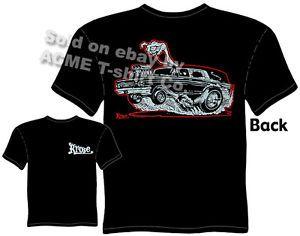 Hot Rods T Shirts Hearse Kustom Kulture Clothes Racing Tee Sz M L XL 2XL 3XL