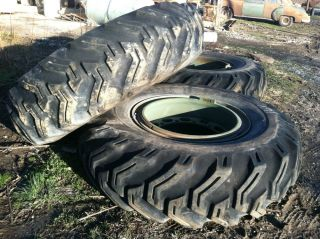 """18 33 Firestone 71"""" Military Tractor Swamp Buggy Mud Monster Truck Tires"""