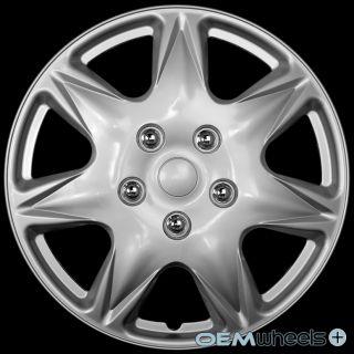 "4 New Silver 17"" Hub Caps Fits Ford SUV Minivan Car Center Wheel Covers Set"