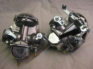 Honda CB350 CB 350 Twin Carbs Carburetors Complete Restoration Chrome