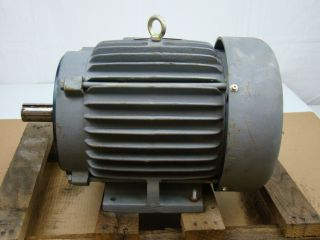 General Electric 7 5 HP Electric Motor 230 460V 5K213SC205RE1
